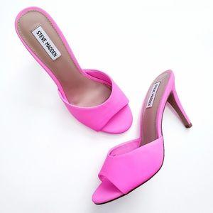 Steven Madden Neon Pink Erin Heel